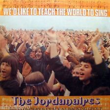 The JORDANAIRES We'd Like To Teach The World To Sing LP 1972 Elvis Presley