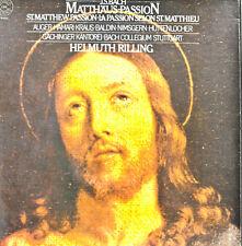 J.S.BACH MATTHÄUS PASSION RILLING-AUGER-HAMARI CBS MASTERWORKS (c901)