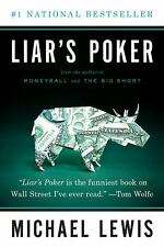 "LIAR'S POKER - Free Shipping-Brand New-Unread-Paperback- ""Michael Lewis""-"