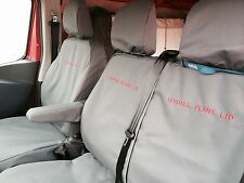 Renault Trafic 2014 on (business model) Tailored Seat Covers & Free Embroidery