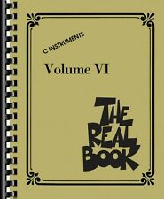 The Real Book Volume VI Sheet Music C Instruments Real Book Fake Book  000240534