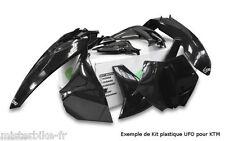 Kit plastiques UFO HONDA CRF250R 2014-2016 CRF450R 2013-2016  couleur Noir