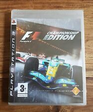 F1 FORMULA 1 ONE CHAMPIONSHIP EDITION Jeu Sony PS3 Playstation 3 Neuf Blister VF