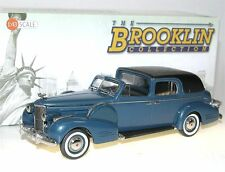 Brooklin BRK 209, 1938 Cadillac Series 75 Fleetwood Town Car, blue/black, 1/43