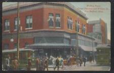 Postcard NEW BEDFORD Massachusetts/MA  Trolley Stop Building Waiting Room 1907