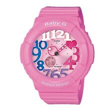 Casio Baby-G * BGA131-4B3 Neon Illuminator Bubblegum Pink for Women COD PayPal