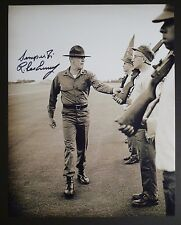 "R. LEE ERMEY Authentic Hand-Signed ""FULL METAL JACKET line"" 11x14 Photo (PROOF)"