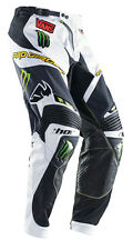 Thor Motocross Monster Energy Men's Riding Race Pants S4 Core Pro Circuit 34