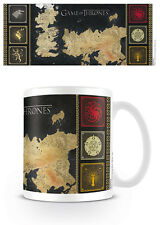 GAME OF THRONES MAP MUG 100% PRODUIT DÉRIVÉ OFFICIEL PYRAMIDE