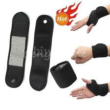 2x Magnetic Therapy Wristband Sports Wrist Strap Weight Lifting Wrap Brace Heat