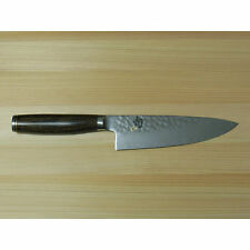 "New Shun Premier 6"" Chef Knife TDM0723 TDM 0723 Kai Japan VG10 Tsuchime Damascus"