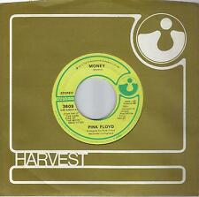 PINK FLOYD  Money / Any Colour You Like  rare original 45 on HARVEST from 1973
