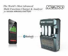 SKYRC NC2600 NiMH BATTERY CHARGER ANALYZER Bluetooth IPHONE / ANDROID APP