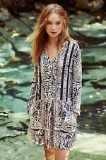 NWT Anthropologie Caviana Printed Shirtdress By Tiny Sz XL EXTRA-LARGE