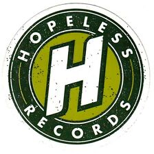 HOPELESS RECORDS Ltd Ed RARE New Sticker! ALL TIME LOW NECK DEEP YELLOWCARD A7X