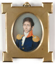 "Peter Mayr (1758-1836) ""High-ranking Bavarian (?) officer"", miniature, 1826"