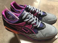 Asics Gel Kayano Trainer H44KK Sz 11 NIB Packer Grey Orange