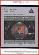 PALAU 1999 USA in SPACE / MARS EXPLORATION  M/S +4 S/S MNH ASTRONOMY