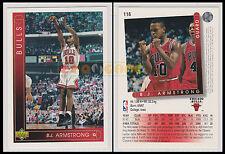 NBA UPPER DECK 1993/94 - B.J. Armstrong # 116 - Bulls - Ita/Eng - MINT