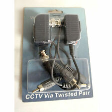 Pair of adapter for CAT5 RJ45 cable to convert to BNC RCA DC as the Camera cable