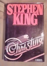 * Christine * by Stephen King * 1983 Hardcover & Dust Jacket * Free Shipping! *