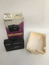 Coffret sony walkman WM-FX28 (vintage 1993) am/fm radio lecteur de cassette