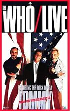 """VIDEO VHS - The Who - Live  Featuring The Rock Opera """"TOMMY"""" (NUEVO - NEW)"""
