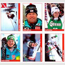 6 Sammelbilder / Ski Austria (OSV/Post/KronenZeitung)