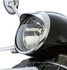 Vespa GT GTS 250 300 Chrome Headlamp Headlight Rim and Peak..NEW