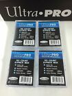 Ultra Pro 50 Count 2-Piece Clear Storage Box Pair x4--Best for AFL 50 card Set