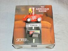 Vintage 1992 Armchair Racer Remote Control Holder Storage Organizer TV VCR DVD