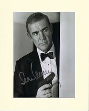 SEAN CONNERY JAMES BOND 007 PP 10X8 MOUNTED SIGNED AUTOGRAPH PHOTO