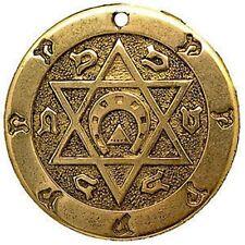TALISMANO Pentagramma della felicità. FERRO DI CAVALLO- PORTAFORTUNA IN TUTTO.