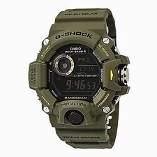 Casio G Shock Rangeman Triple Sensor Atomic Military Digital Watch GW9400-3