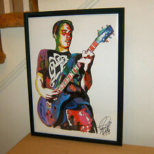 Benjamin Burnley, Breaking Benjamin, Singer, Guitar, Metal, 18x24 POSTER w/COA