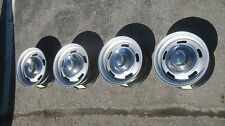 4-15x7 GM Chevrolet Camaro Corvette Monte Carlo Rally Steel Wheels 5 Lug 5x4 3/4
