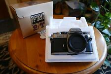 nikon FM2T camera mint_boxed / all papers titanium model rare