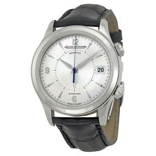 Jaeger LeCoultre Master Memovox Automatic Silver Dial Mens Watch Q1418430