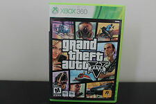 Grand Theft Auto V  (Xbox 360, 2013) *Case and Disc 1 Only