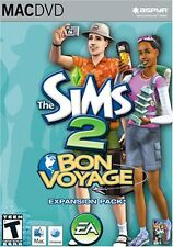 The Sims 2 Bon Voyage Mac New Sealed in Box Simulation