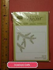 Stampin Up PINE BOUGH bossing folder new A2 Large size New