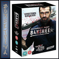 BANSHEE - COMPLETE SEASONS 1 2 3 & 4 *BRAND NEW DVD BOXSET**