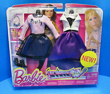 Barbie Dream House Concert Fashion Pack - Raquelle - Dress Outfit - New