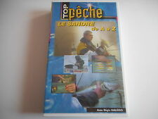 K7 VHS CASSETTE VIDEO - TOP PECHE / LE SANDRE DE A à Z - REGIS GALLEGO