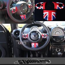 MINI ONE COOPER R55 R56 R57 R58 R59 R60 LENKRADSPANGE EINSATZ UNION JACK COLOR