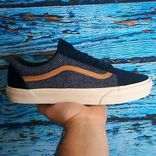 Vans OLD SKOOL REISSUE CA Guinea Feathers/Mood Indigo Men's Shoes 11