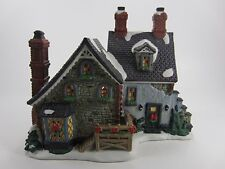 The English Farm House-Carole Towne Collection Christmas Village 2001