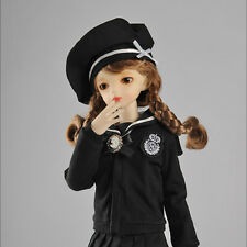 Dollmore 1/4 doll clothes MSD SIZE- Cardigan + Sailor Fashion For Girl (Black)