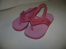 NIKE TODDLER BABY GIRLS SANDALS FLIP FLOPS SHOES Size 6 C / 6C W PINK VERY CUTE