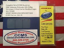 CCMS OMC Johnson Evinrude Sport Outboard Reed 200-250hp V6Looper Mod. PN166-3S